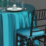 custom tablecloths in satin