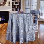 custom tablecloths in Beethoven damask